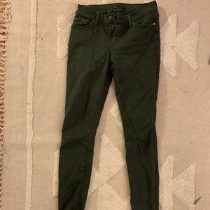 7s Forest Green Cut-Off Jean size 24